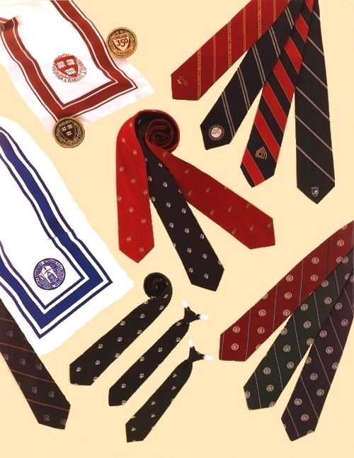 Custom Designed Ties & Scarves